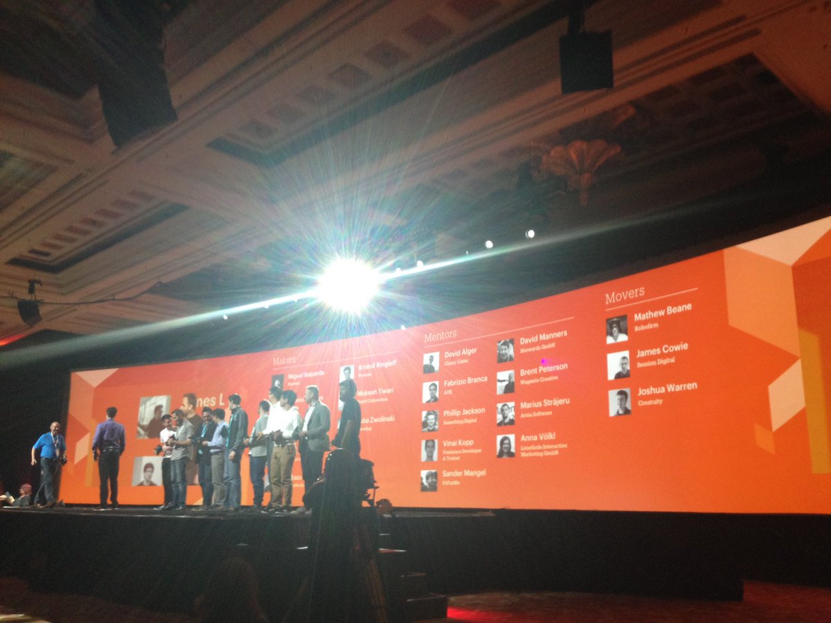 SheroDesigns: #Magento Masters representing the #community #realmagento #magentoimagine https://t.co/LVww4ro8oj