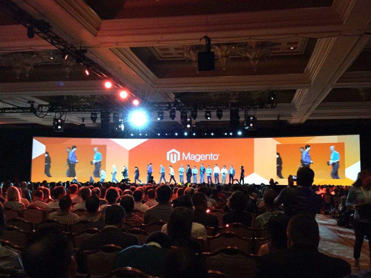 tomik99: Magento Masters! Congratz to Kuba Zwolinski @SnowdogApps #MagentoImagine https://t.co/OS3RSYSQNQ