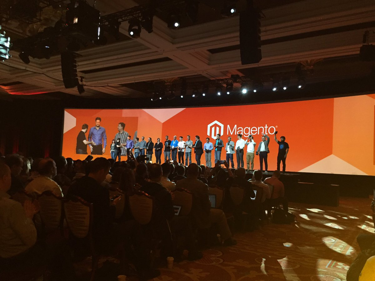 sourcesoldier: #MagentoImagine #MagentoMasters well deserved ! You formed this community. https://t.co/K7u16RVdnL