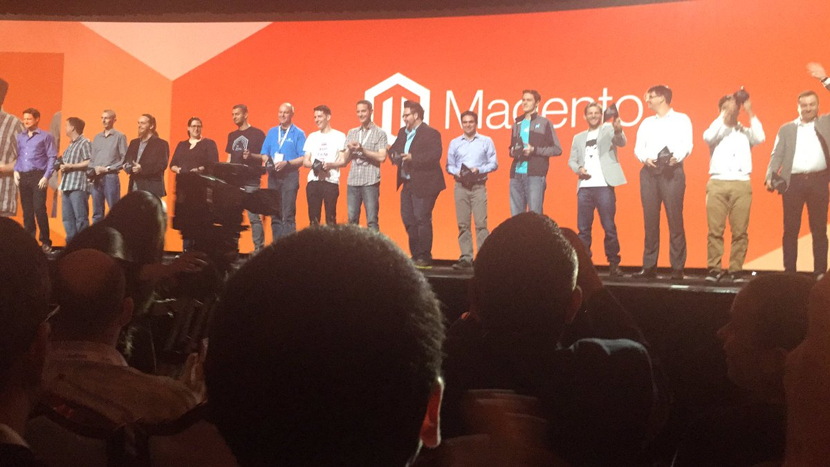 jaalcant: Magento Masters #MagentoImagine https://t.co/r98Lp7dCp0