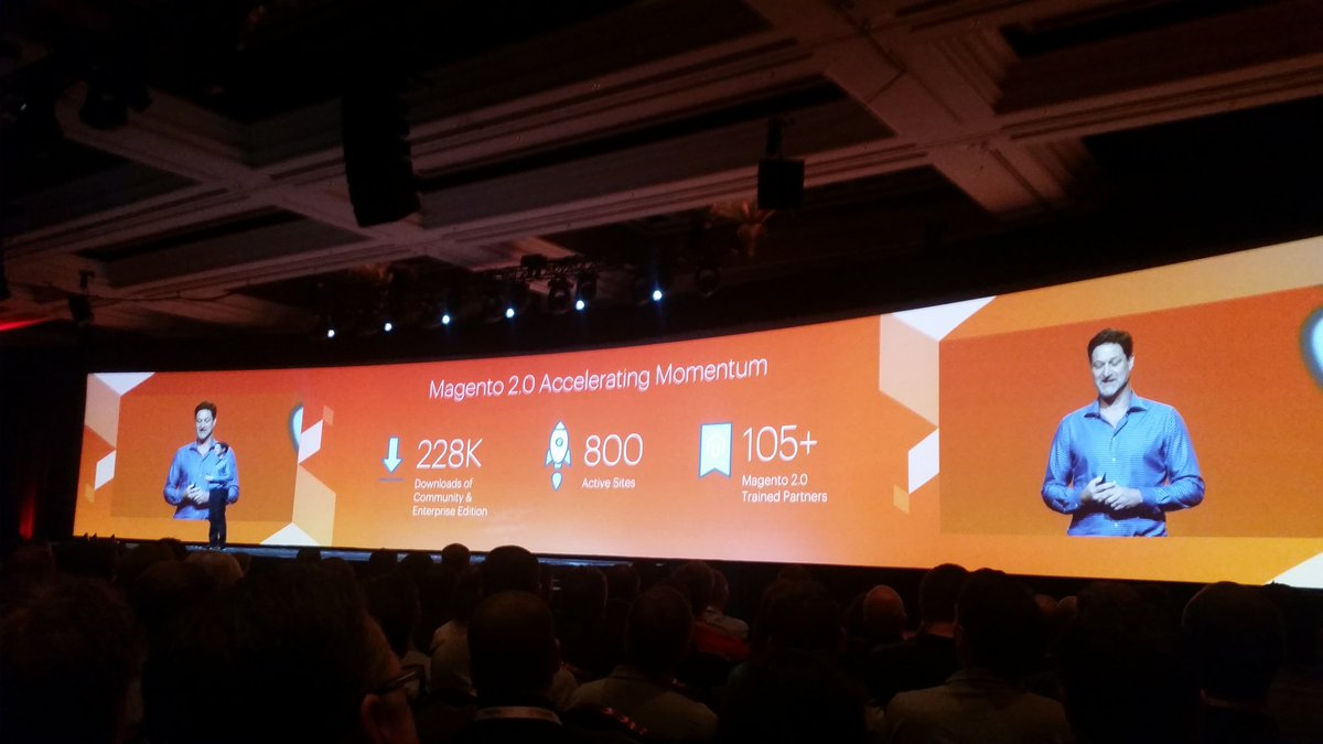 helenelefebvre: Who says it's too early for Magento 2.0 ? #MagentoImagine https://t.co/xVGfXjLxjR