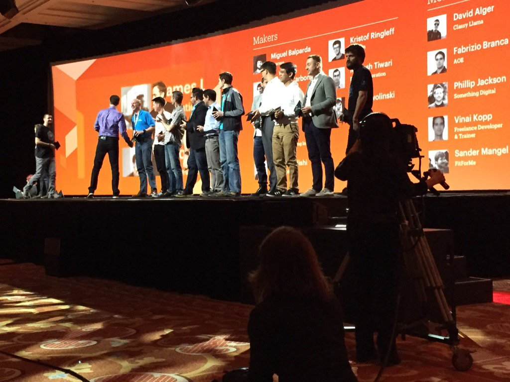 robertDouglass: Nice ritual recognizing makers, movers, and mentors at #MagentoImagine https://t.co/1EnxhpFPTO