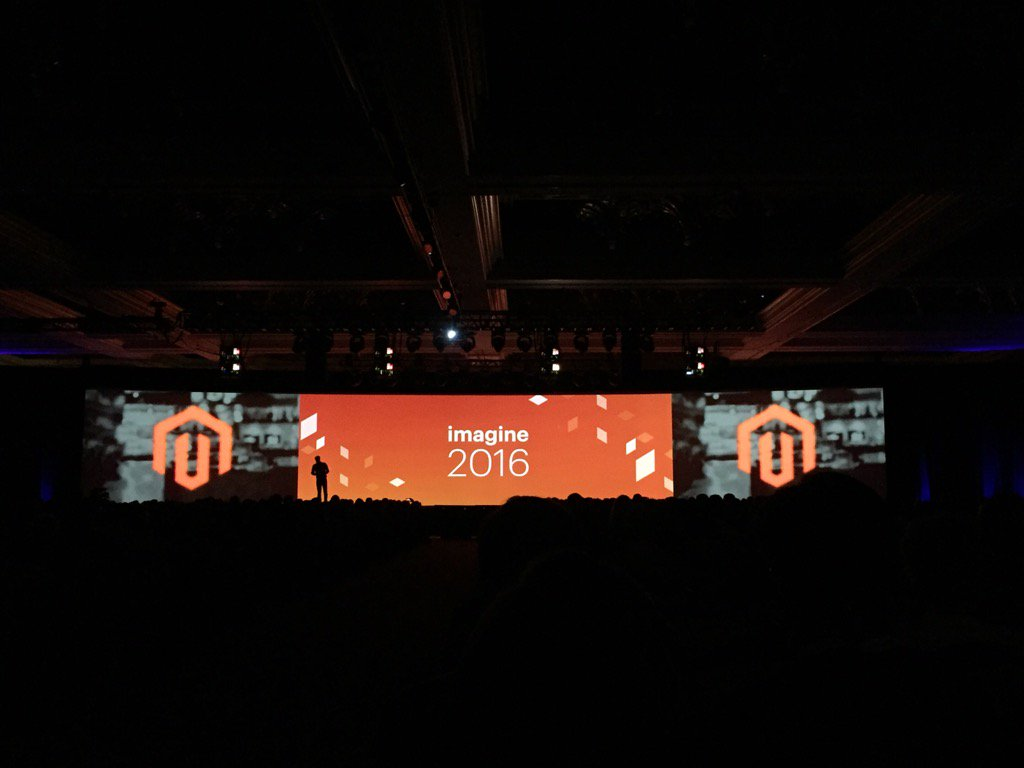 magento_rich: Announcement of the new @magento Marketplace for extensions. #MagentoImagine https://t.co/JG27oFL4eW