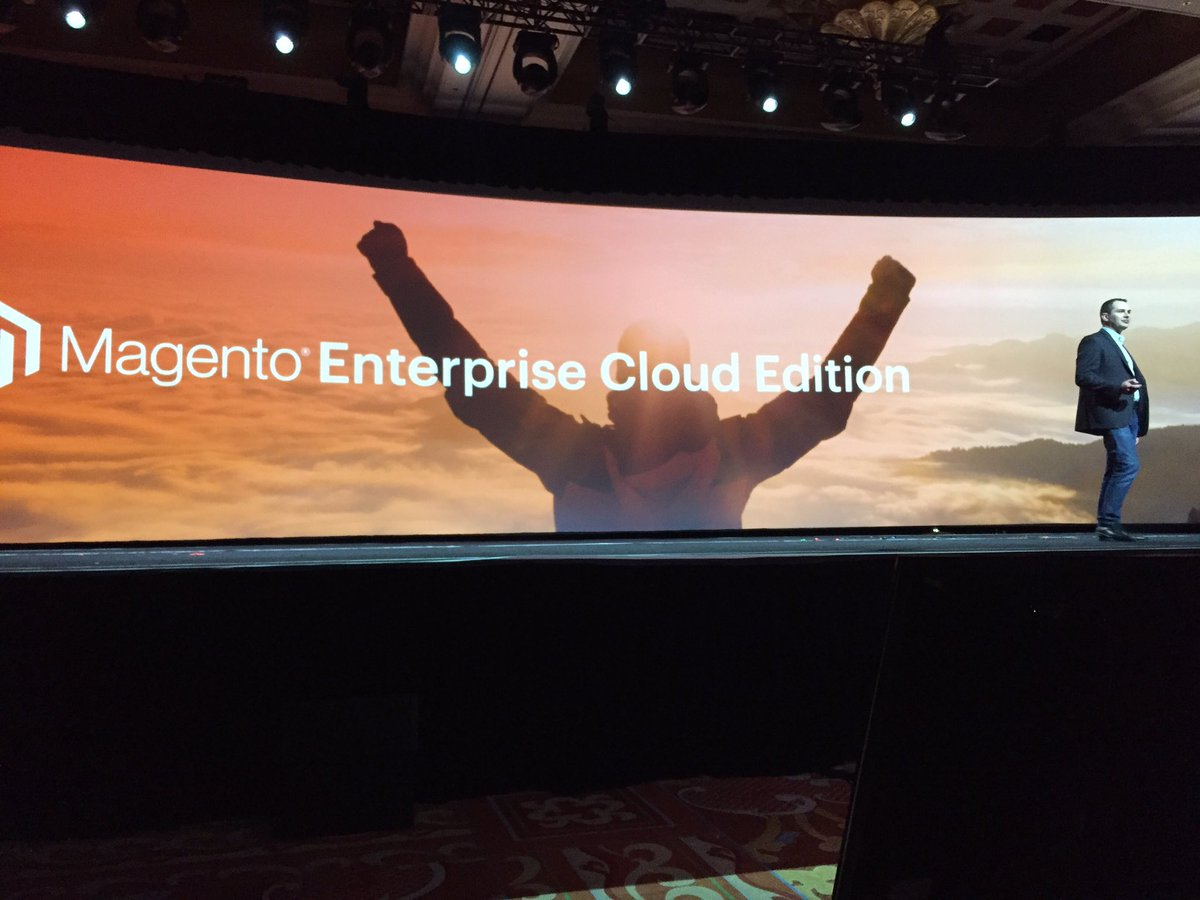 ProductPaul: @peter_sheldon 'Orange and Clouds were meant for one another'. Well said Peter. #MagentoImagine https://t.co/uYt7tYCWCL