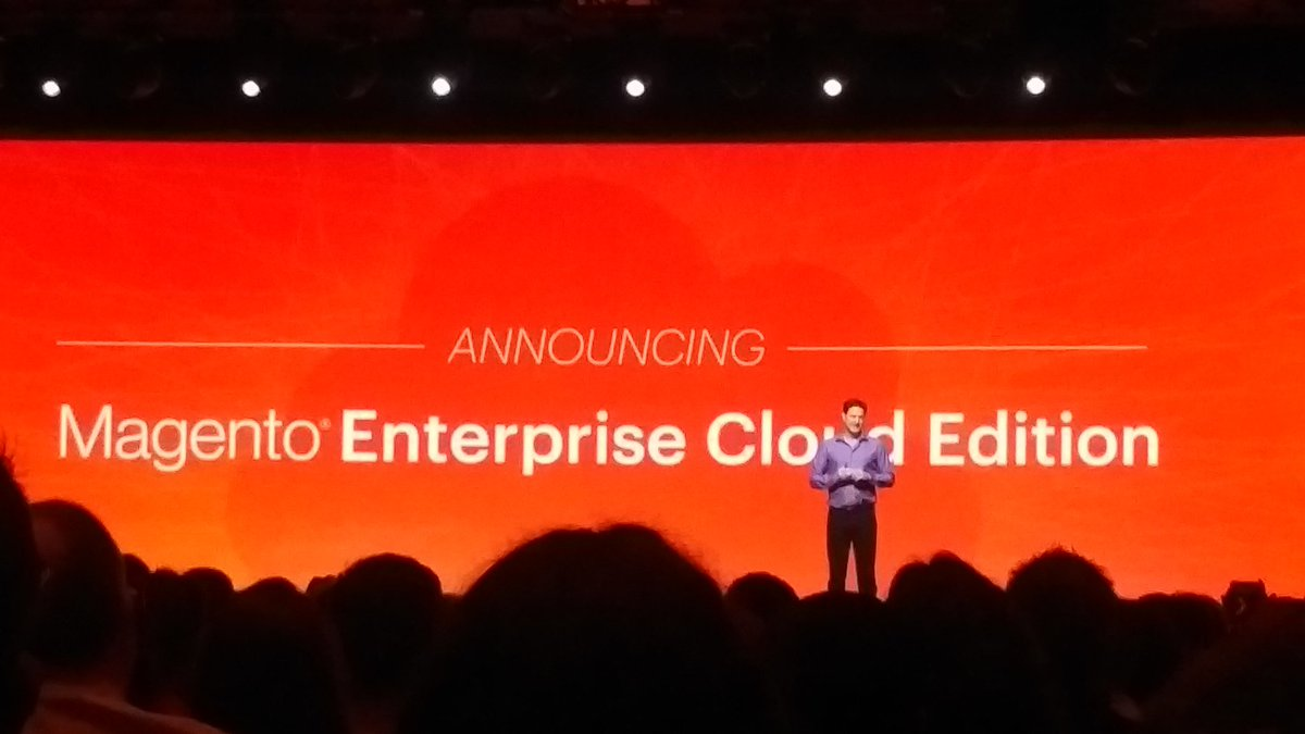 KeyoraInc: Will this be a game changer?  'Orange and clouds were meant for each other'. #MagentoImagine https://t.co/HJnDcAgMKL