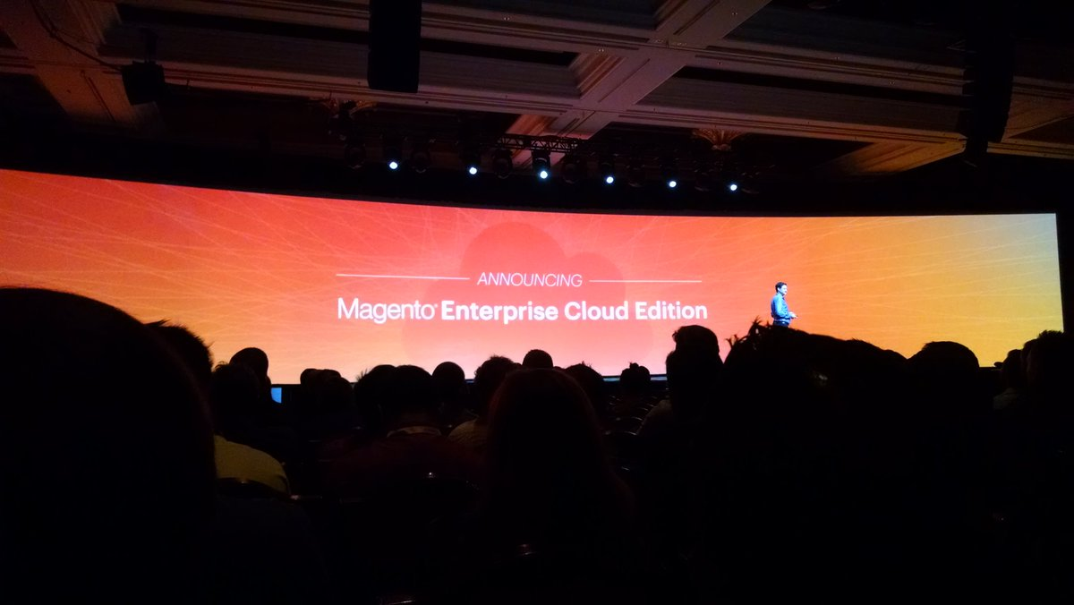 barbanet: Magento Enrerprise Cloud Edición #MagentoImagine https://t.co/xjmDBMgRXY