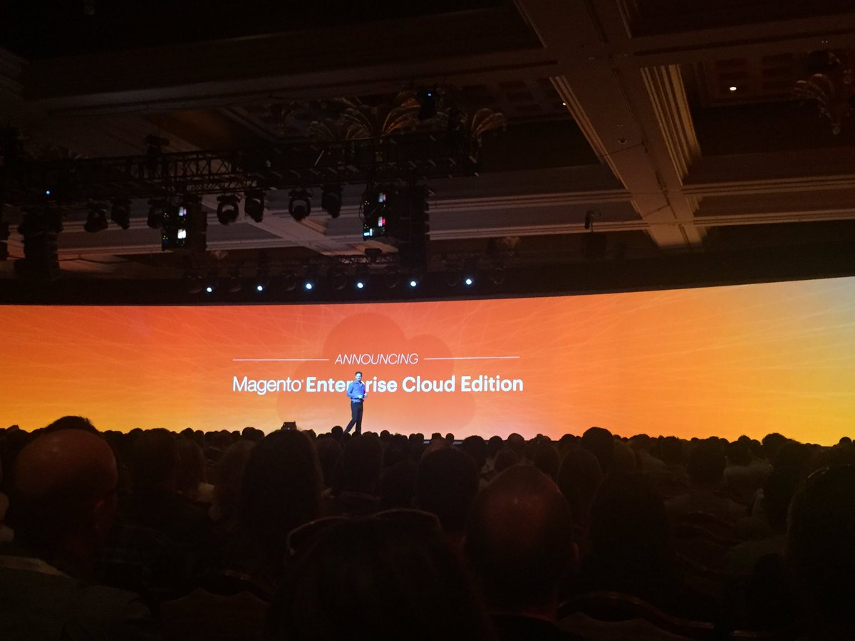 iancassidyweb: 2. #magento announce new #paas #magentocloud solution #magentoimagine https://t.co/5vhYFsr9tn