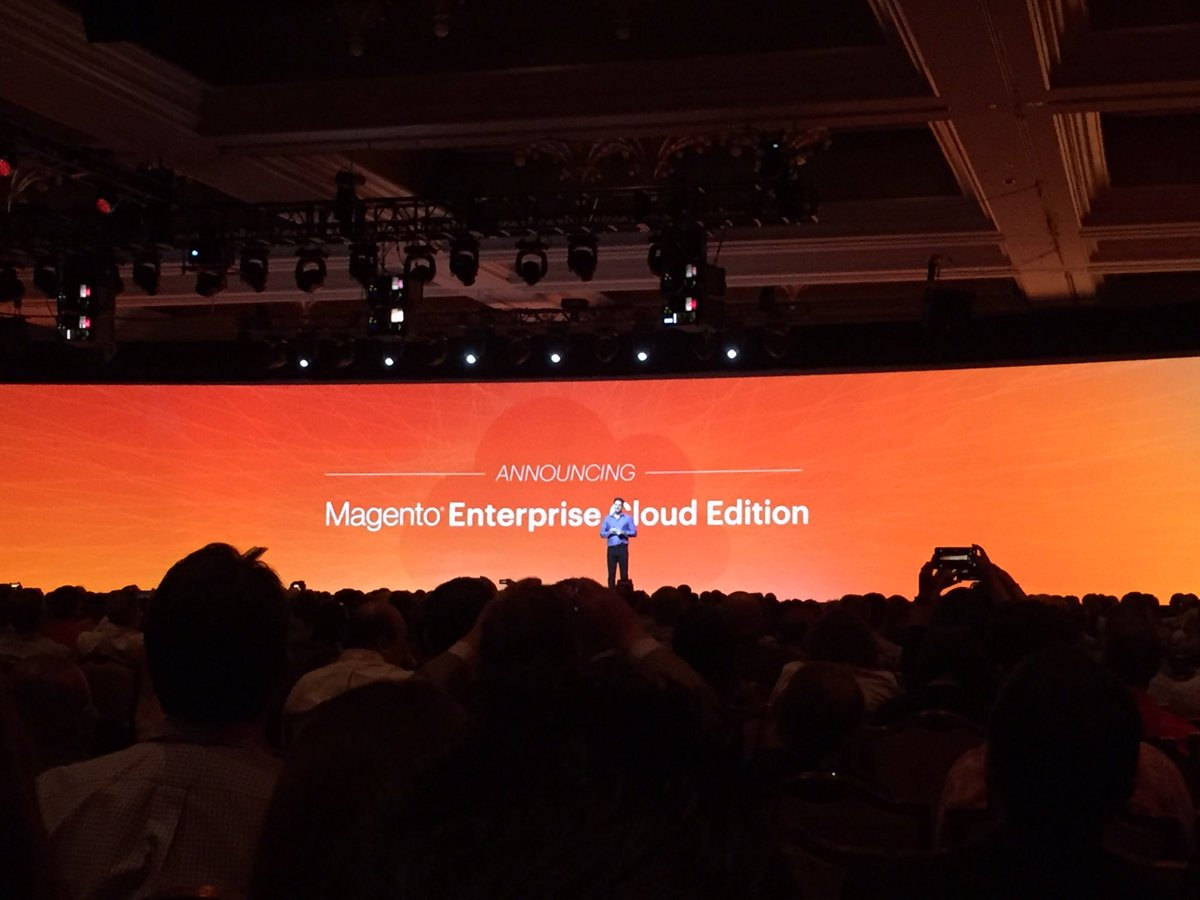 vrann: Great step for the commerce #MagentoImagine https://t.co/yvYfNhyWf0