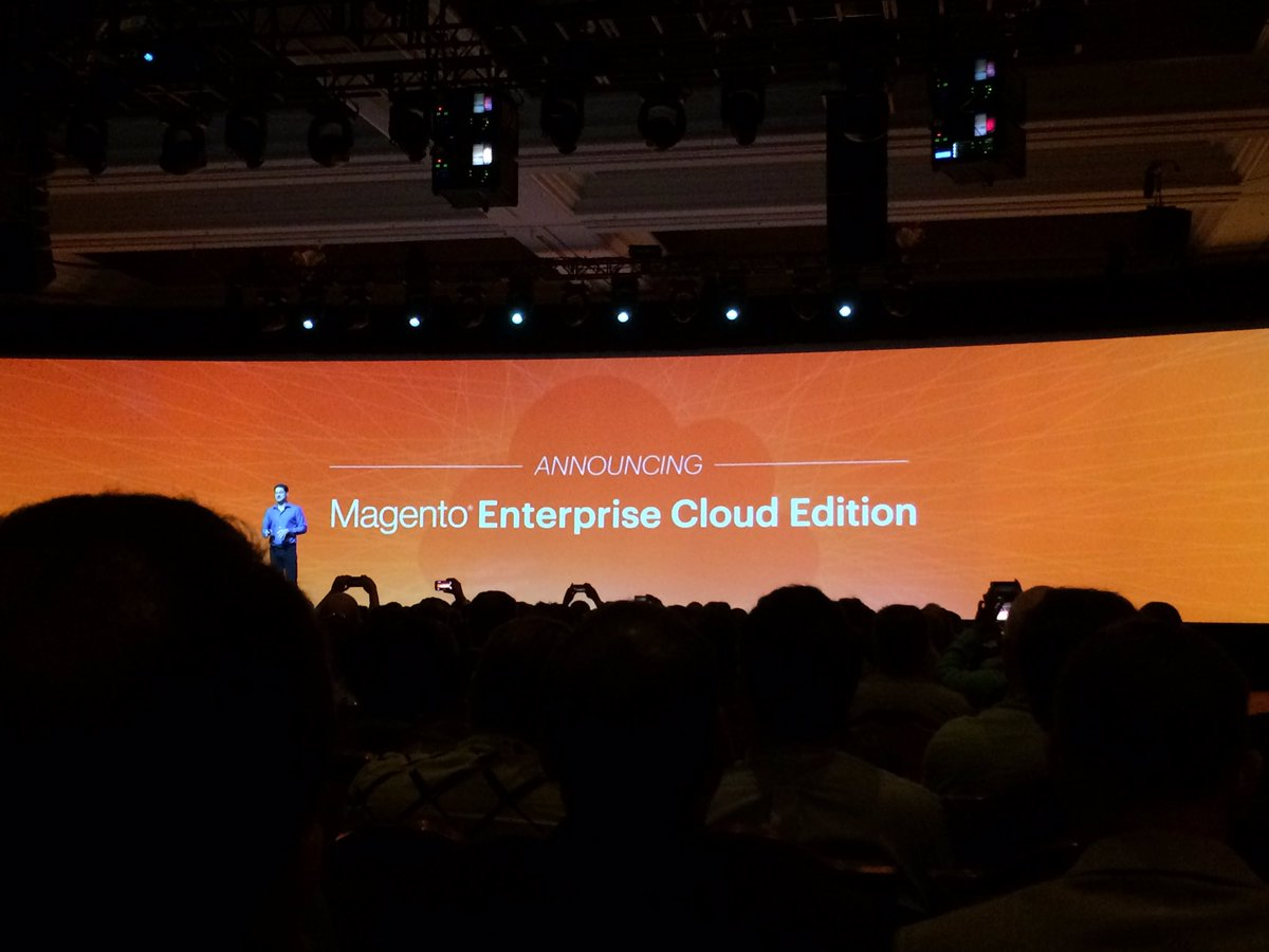 benjaminrobie: To the cloud!!! #MagentoImagine https://t.co/MuuggoegWD