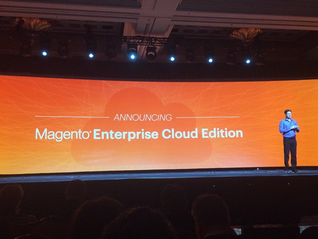 D_n_D: Lancement de Magento Enterprise Cloud Editionn#MagentoImagine https://t.co/NLOSkmwjMn