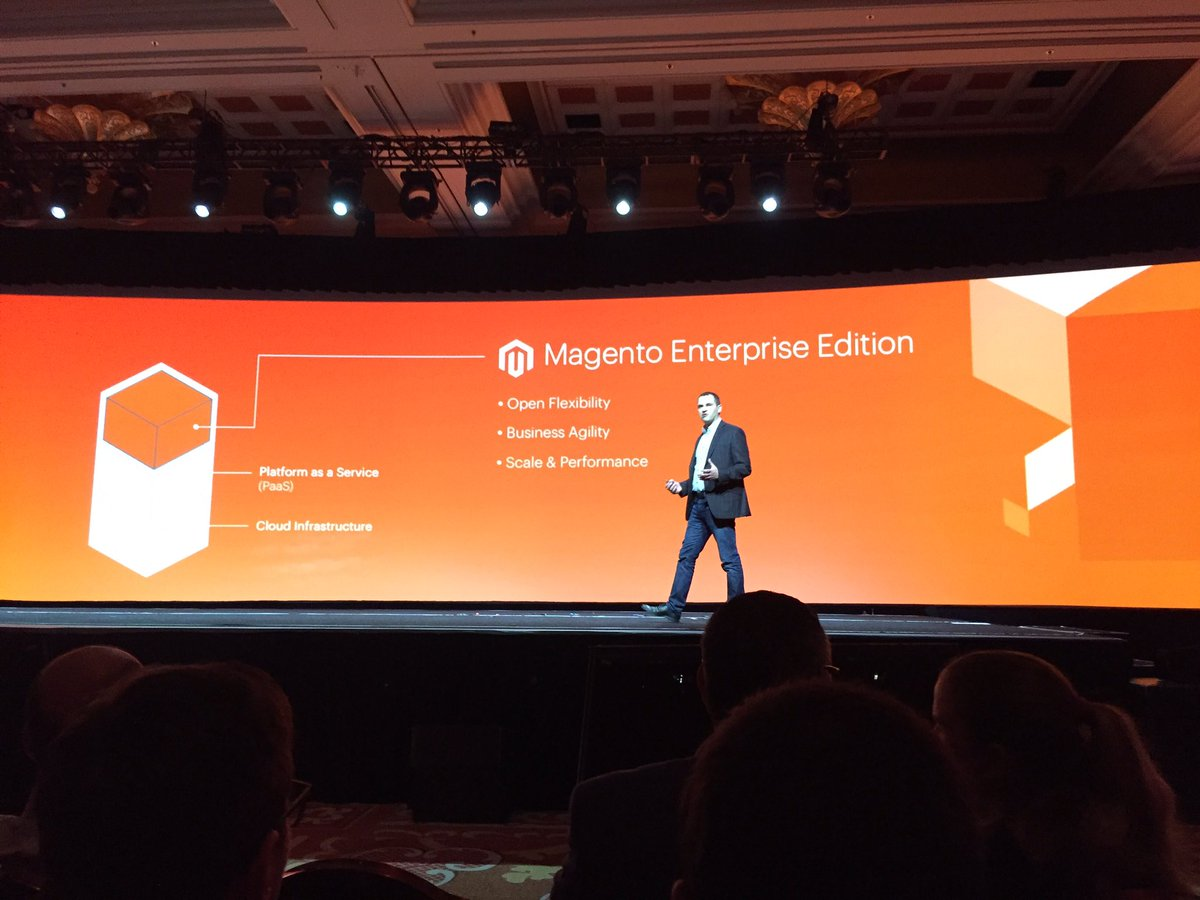 ignacioriesco: But what is the @Magento Enterprise Cloud Edition? Includes M2 EE  #MagentoImagine https://t.co/39xYTySqfl