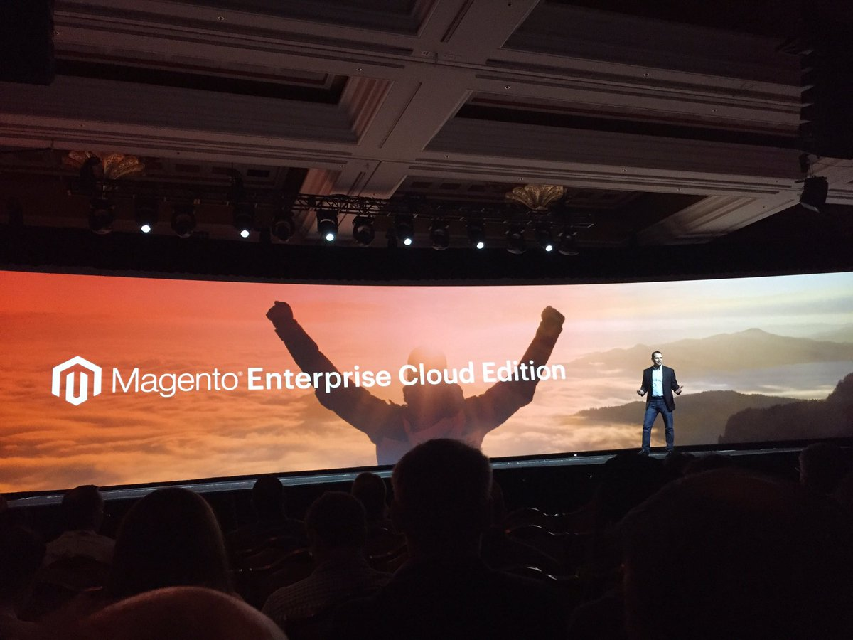 WebShopApps: Cloud is a natural evolution for @magento #MagentoImagine https://t.co/4HrWDsuN9y