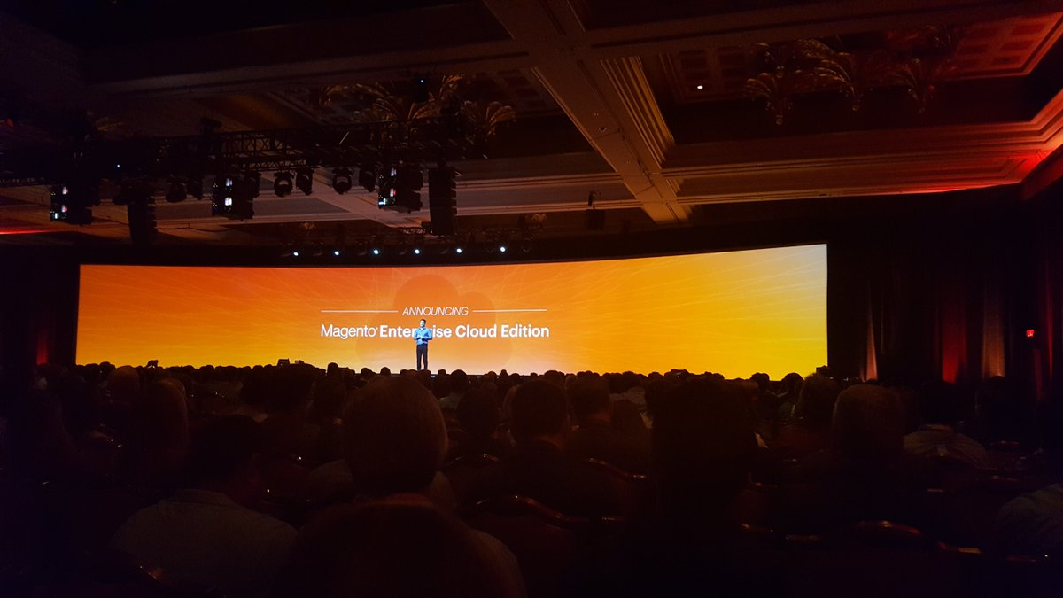 TweetsKath: #MagentoImagine: #magento Enterprise Cloud Edition is ready! https://t.co/2zwP4iWYnN