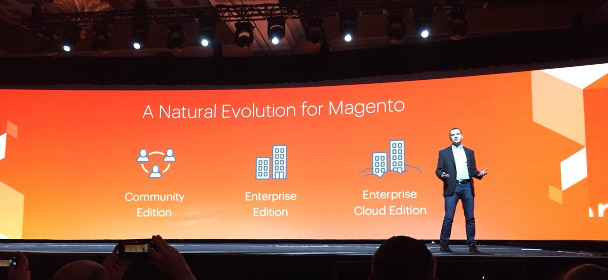 ignacioriesco: But what is the @Magento Enterprise Cloud Edition? A natural evolution. #MagentoImagine https://t.co/rgdWBLFkWk