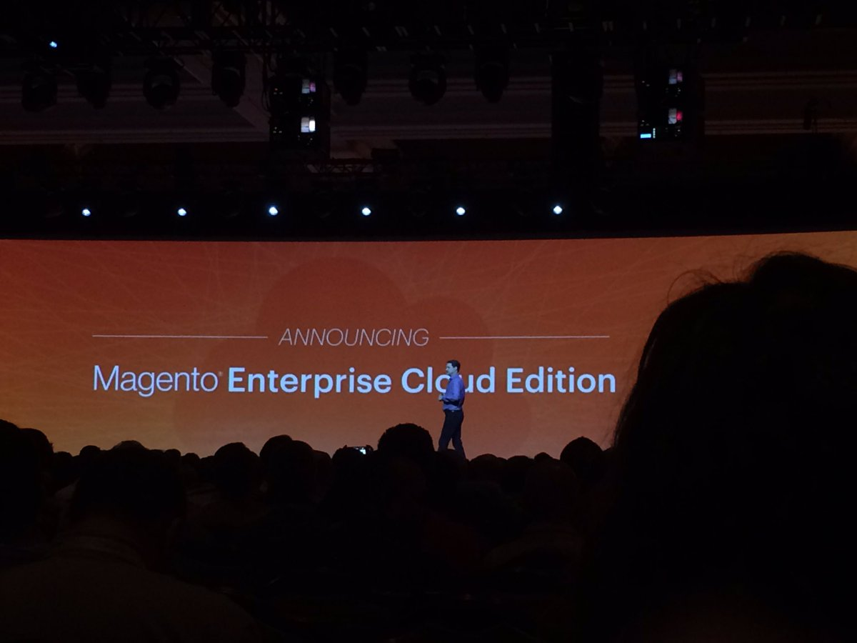 bhaveshsurani: Magento Announced New Product @ Magento Enterprise Cloud Edition #MagentoImagine #Magento #Imagine2016 #Brainvire https://t.co/Y4hmX62aBa