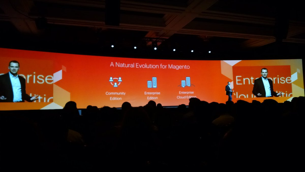 barbanet: Enterprise Cloud Edition #MagentoImagine https://t.co/JjPCDrDyj1