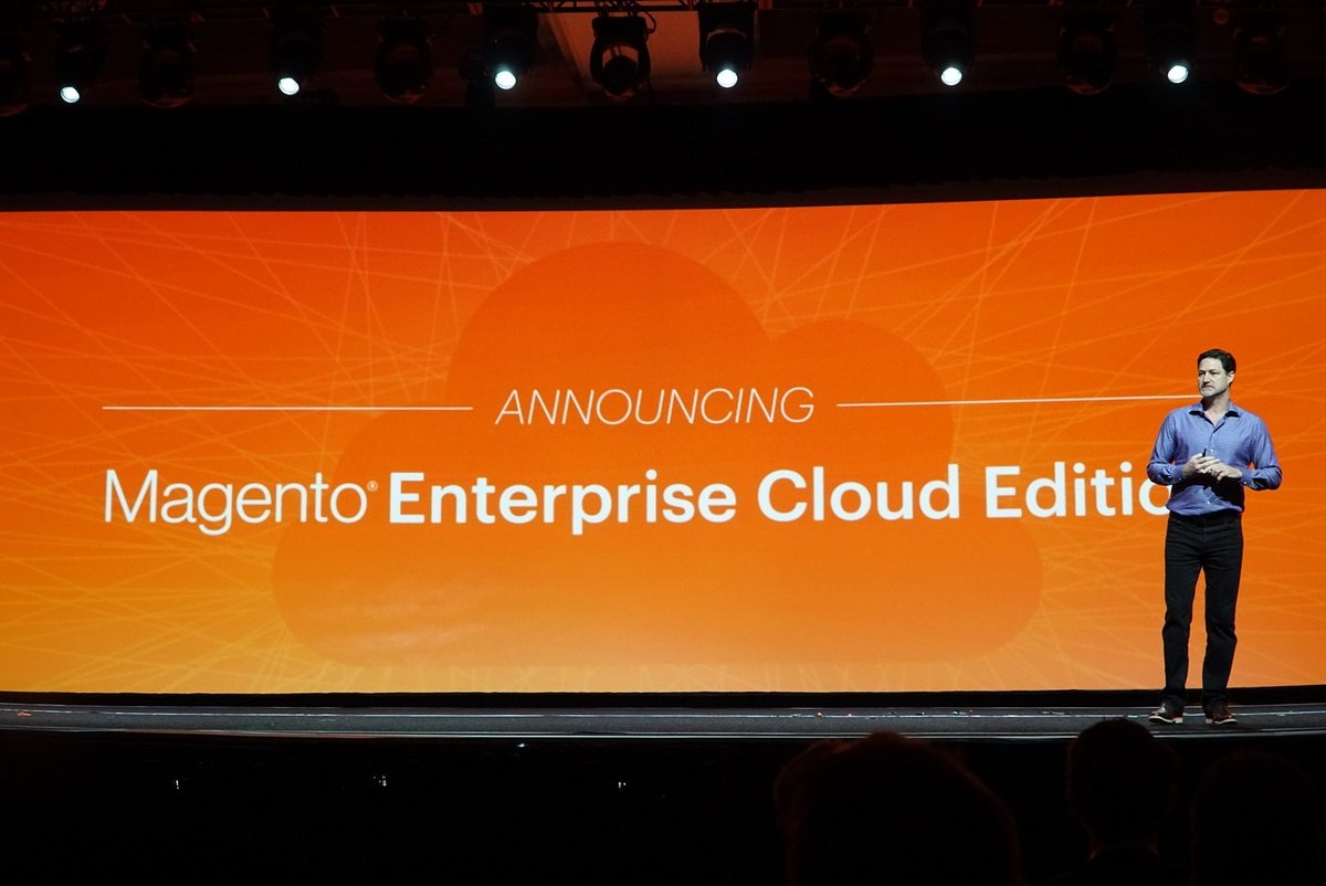 wejobes: Exciting stuff! Magento Enterprise Cloud Edition announced #MagentoImagine https://t.co/tdF3vYT53O