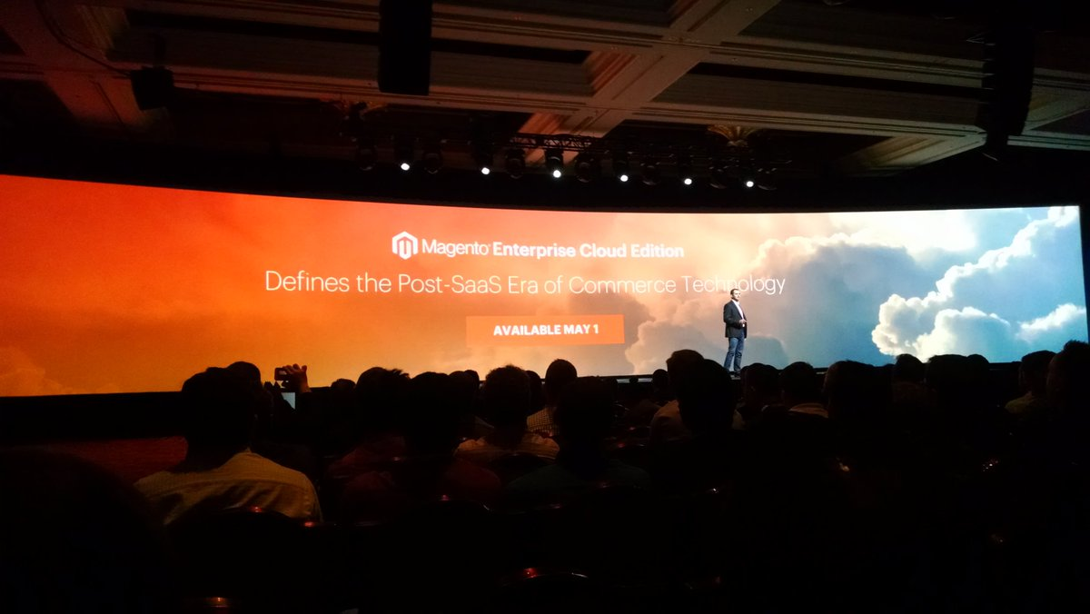 barbanet: Enterprise Cloud Edition available May 1. #MagentoImagine https://t.co/NGiCDGBuTM