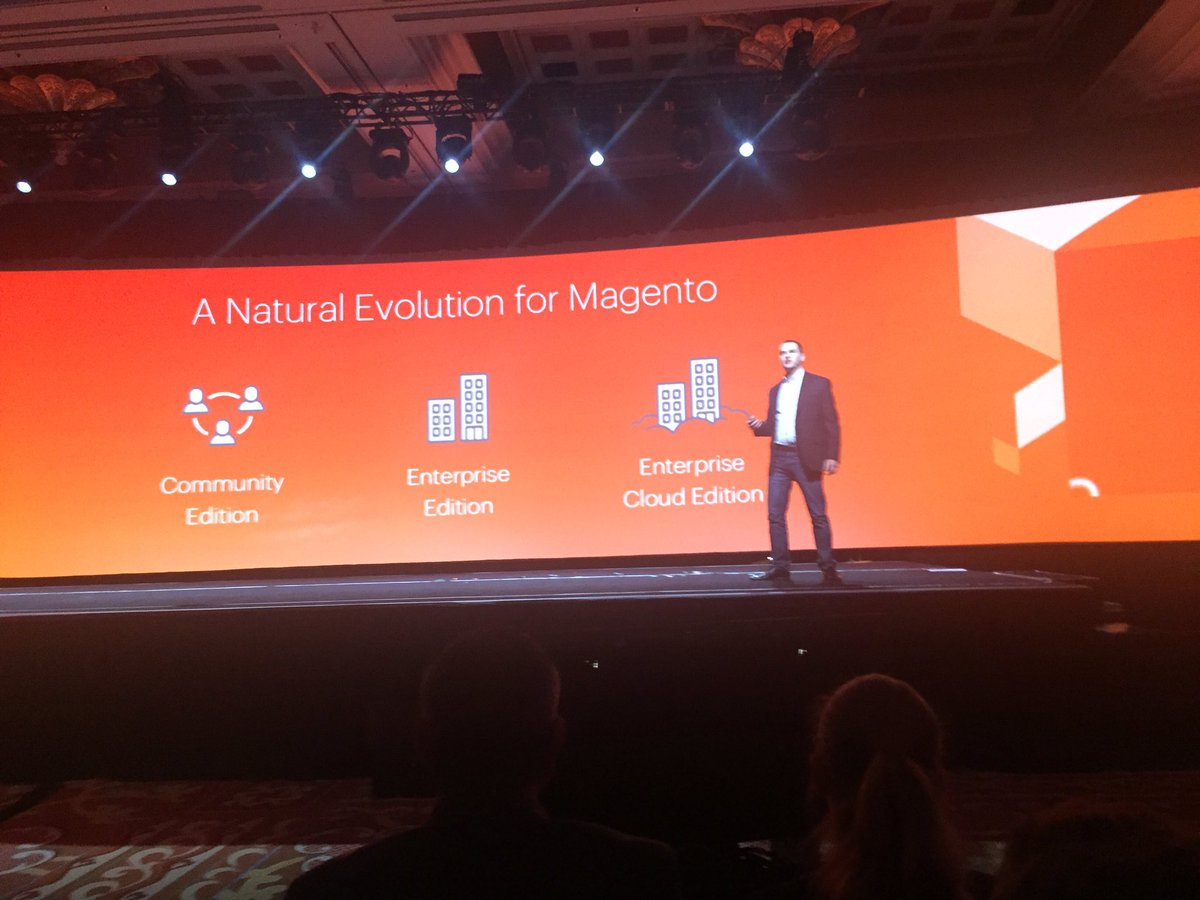 jaalcant: Evolution MCE > MEE > MECE #MagentoImagine https://t.co/vDo0ryD2vz