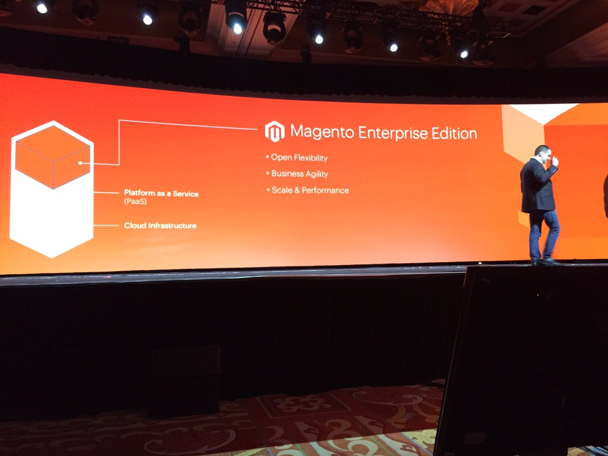 ProductPaul: 'If you can do it in Enterprise edition you can do it in cloud' @peter_sheldon  #MagentoImagine https://t.co/rcdwAImFgt