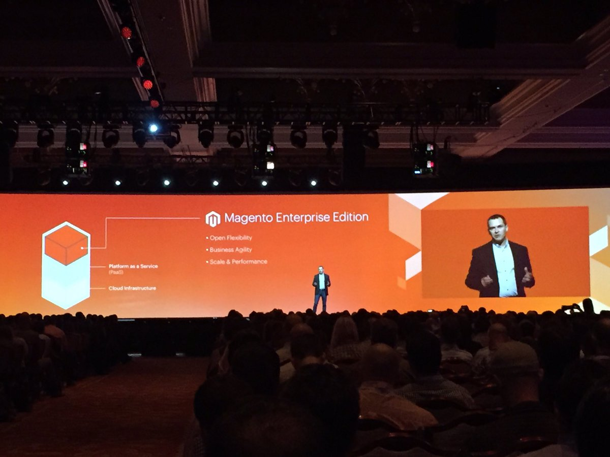 magento_rich: The @magento Cloud stack. #MagentoImagine #ECE https://t.co/NLuwp4z71u