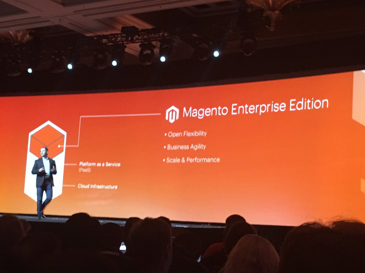 phoenix_medien: #Magento Cloud Edition provides freedom to customize the code base #MagentoImagine https://t.co/OwlDhr9BSa