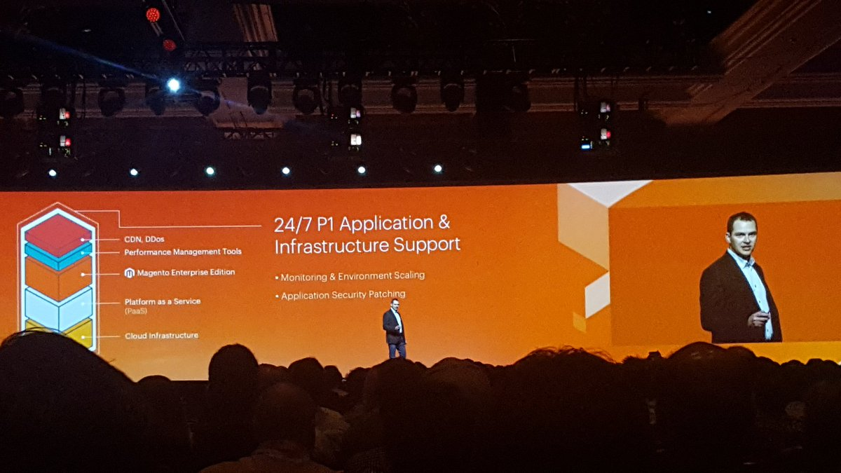 mgoldman713: #MagentoCloud announcement. All included. #MagentoImagine https://t.co/x30pkbgVXF