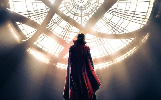 Benedict Cumberbatch sees the light in first striking DoctorStrange poster: