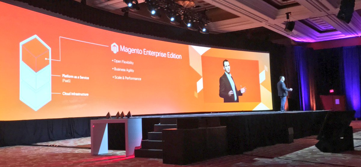 benmarks: 'It's the same code. If you can do it in M2EE, you can do it in Magento Enterprise Cloud Edition.' nn#MagentoImagine https://t.co/rcDlMOvYng