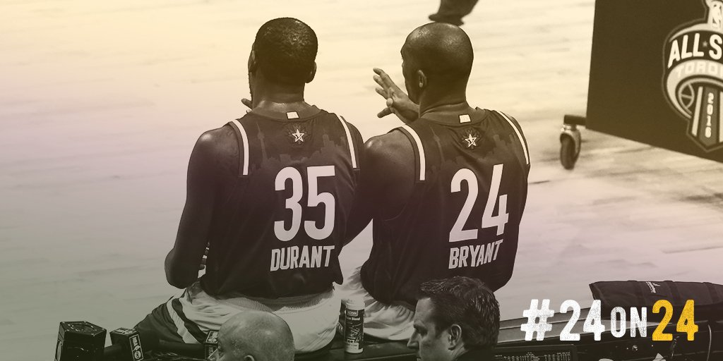 """I wanted to make the game as simple as I could; that's what he did. Special player, special man"" - @KDTrey5 #24on24 https://t.co/HxkDCpa14k"