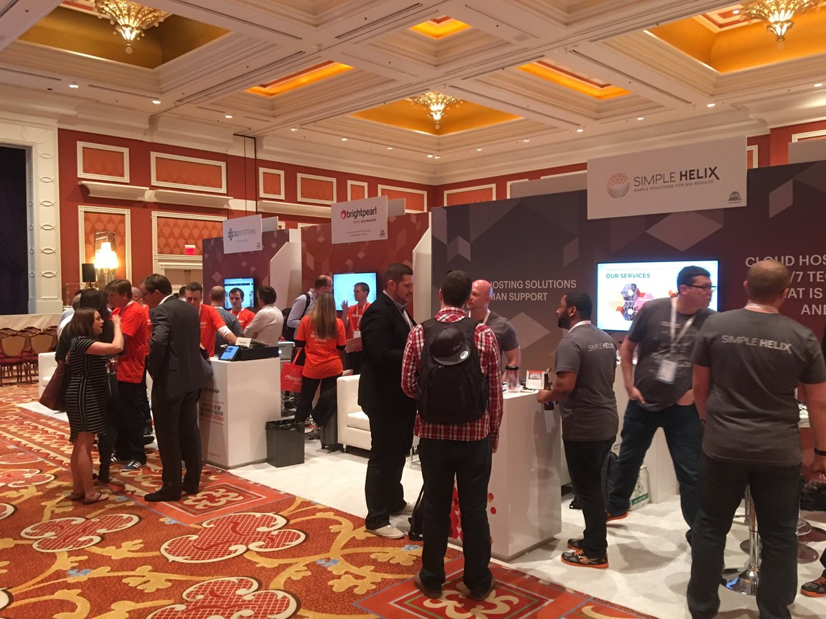 BrightpearlHQ: Great first day at #MagentoImagine yesterday! Our highlight was @0aklandish talking startup success! Roll on Day 2! https://t.co/kQfaHb7gCK
