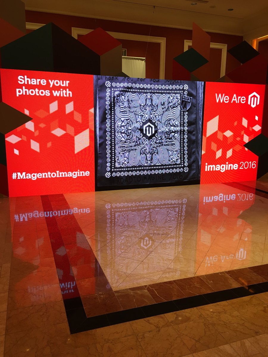 mediaspa: We laugh, we cry, wecommerce!nnSee what I did there?nn#MagentoImagine #RealMagento @magento #ecommerce #magento https://t.co/u7ceAvTSKs