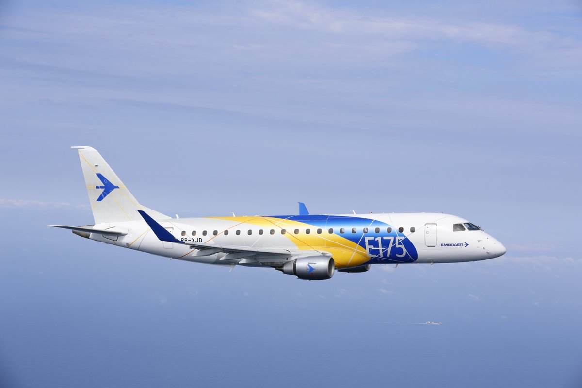 Our regional carrier Horizon Air has placed an order for 30 new @Embraer E175 jets: