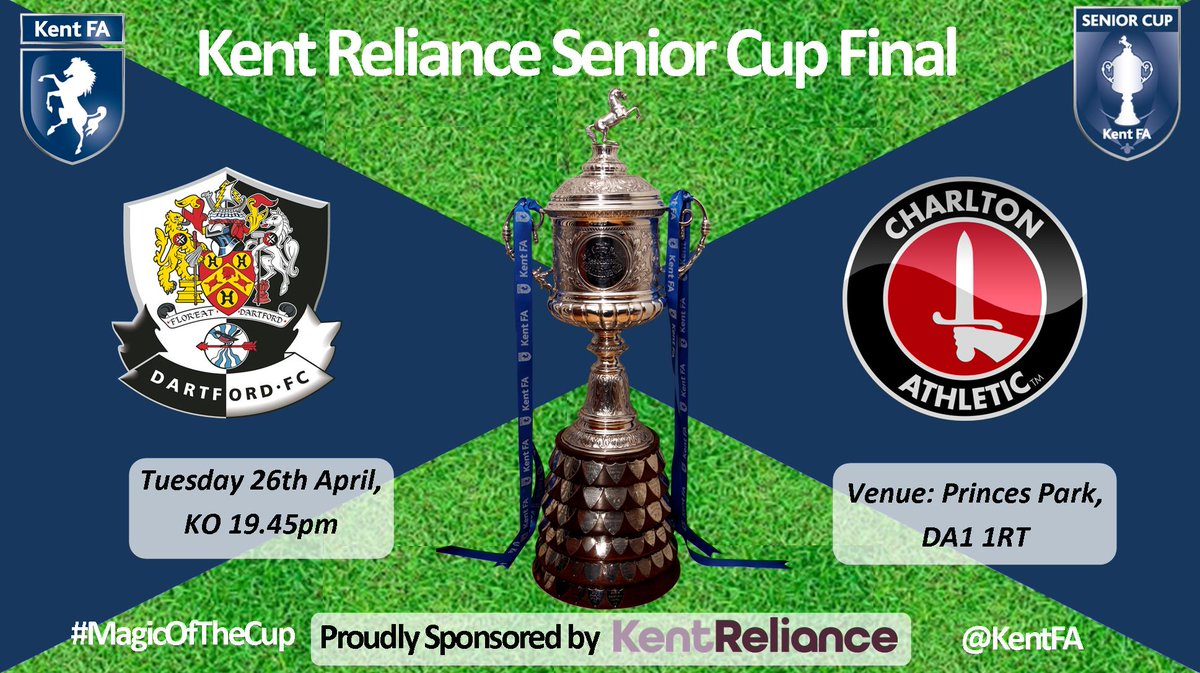 The date has been announced for the 127th @KentReliance Senior Cup Final 2016 #MagicOfTheCup https://t.co/KNxumCHtYB https://t.co/CWHjBCAAYz