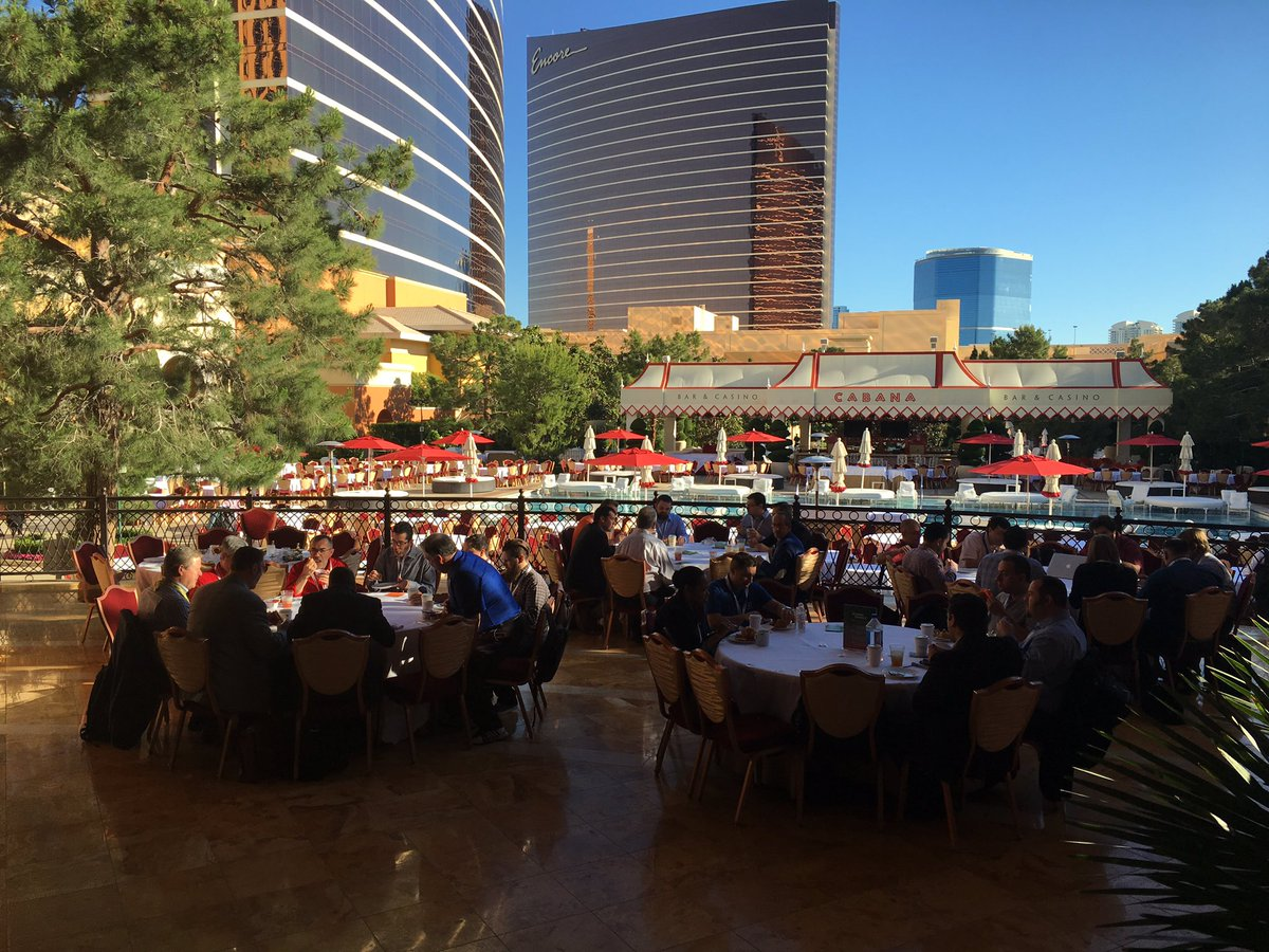 magento: It's a lovely day for breakfast in the shade. Thanks @onestepcheckout #MagentoImagine https://t.co/TpTPJ6pyws
