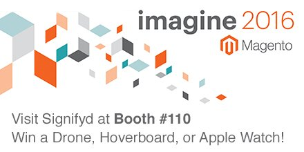 signifyd: Off to a great start at #MagentoImagine. Grab your coffee & come by booth 110 to meet the team & enter our contest! https://t.co/NDnunkppdy