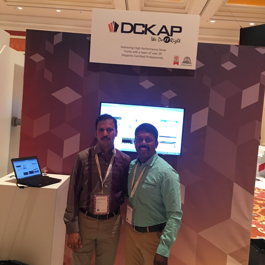 DCKAP: Good Morning #MagentoImagine grab your breakfast near the @DCKAP booth and stop by. https://t.co/UpBkFWbB4a
