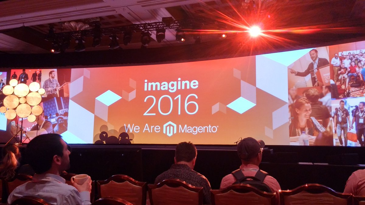 darkela: Keynote 1 #magento #MagentoImagine #Imagine2016 #Magento2 https://t.co/4SKhYho91a