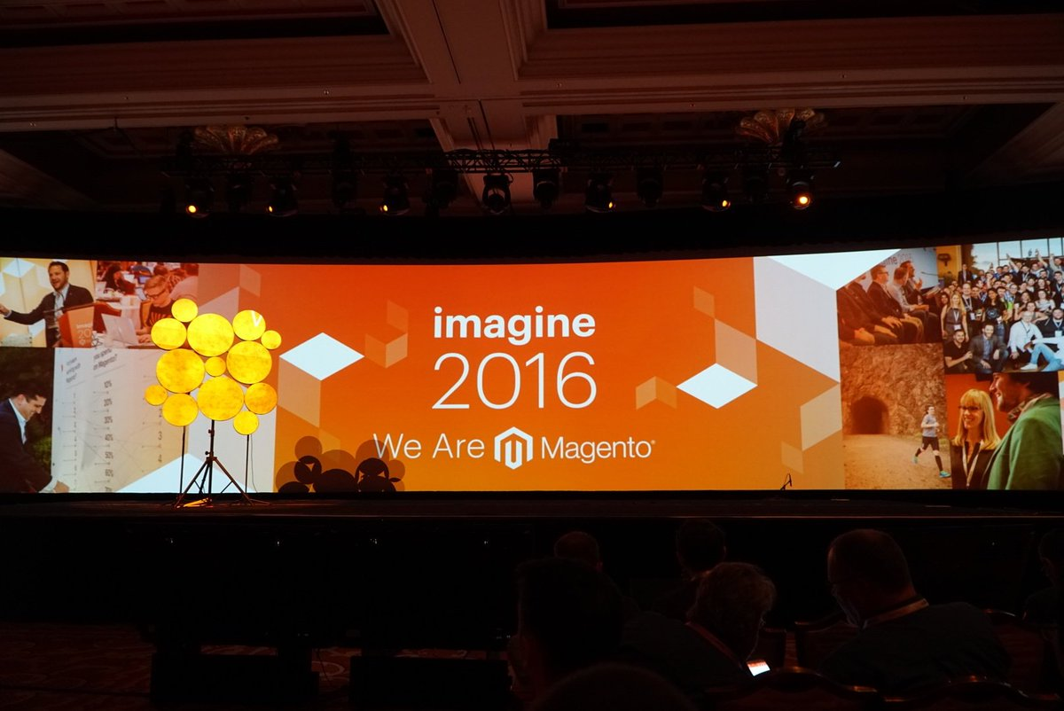 wejobes: First keynote about ready to begin! #MagentoImagine https://t.co/9pqRYrDAvL