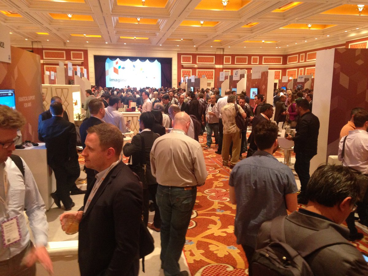 ObjectWaveCorp: #MagentoImagine in full swing! Visit booth #6 to discover @Magento 's secrets. https://t.co/Y6OVZoC8HL https://t.co/QdIfU354V7