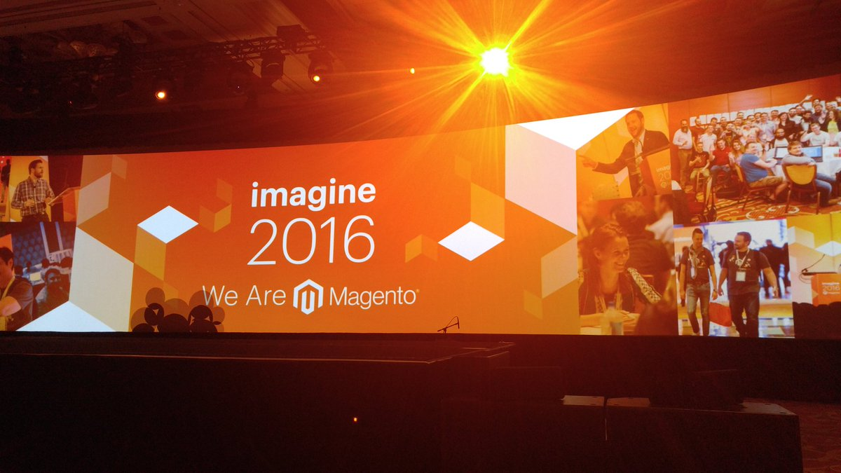 SynergyGuy: Great start to conference at #MagentoImagine #smb focusing on B2B @worldsynergy @WorldSynergyApp https://t.co/wei8oomV9f