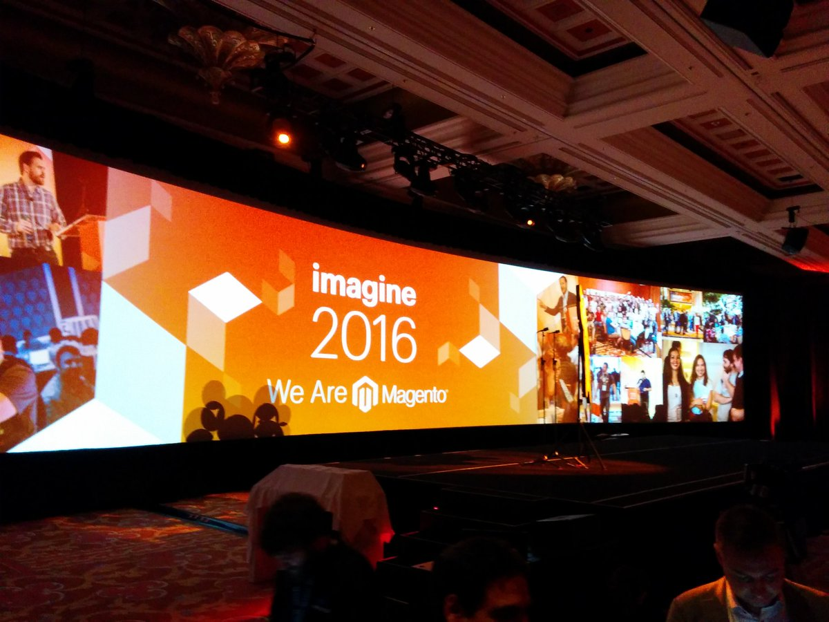 mannersd: About to start up #magentoimagine https://t.co/2ADJxeolta