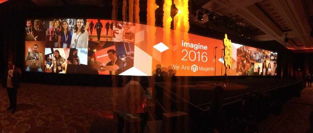 brentwpeterson: Getting ready for #MagentoImagine https://t.co/HutoMwCGvy