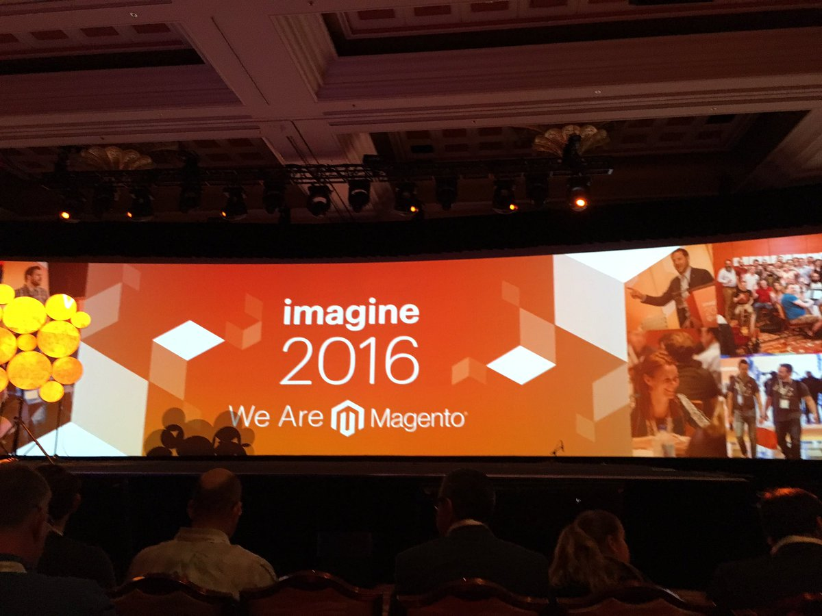 alexanderdamm: What's coming up? The next big thing? @magento #MagentoImagine https://t.co/VjcfAAT6YN