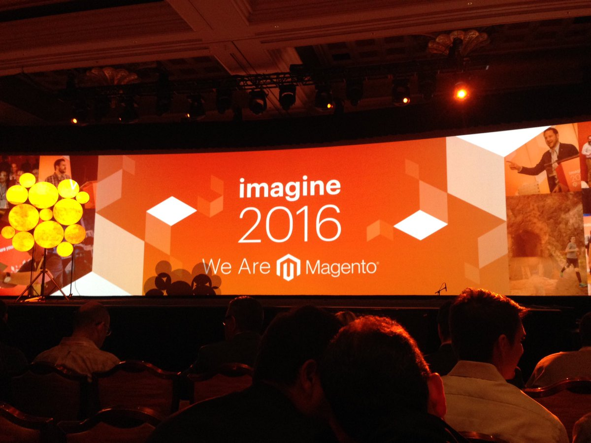 flagbit: The first highlight #magentoimagine keynote I. #wearemagento https://t.co/r7JNYrvGmx