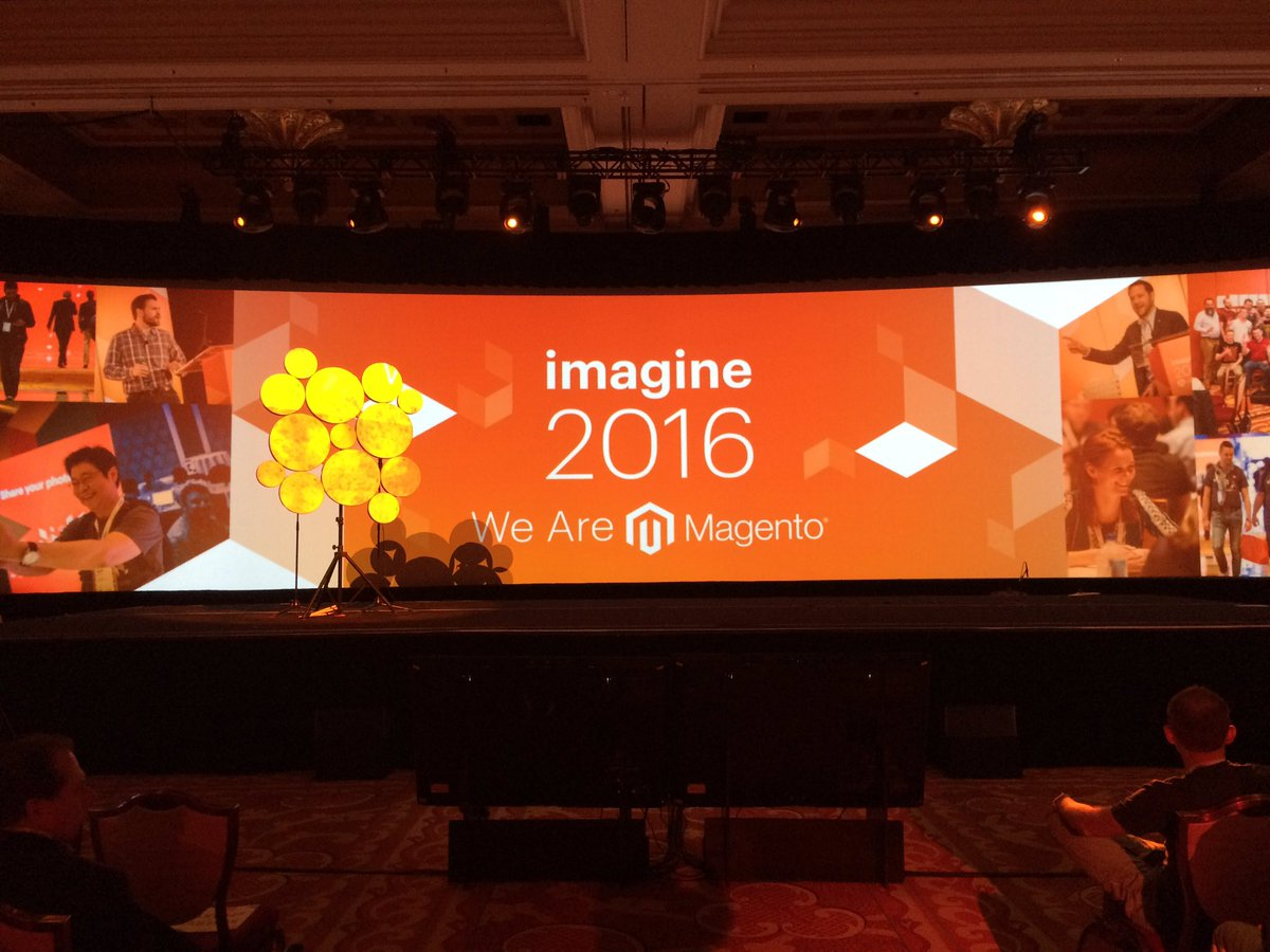 D_n_D: #MagentoImagine general session will start in few seconds! #Magento https://t.co/Dap5Nqjyhe