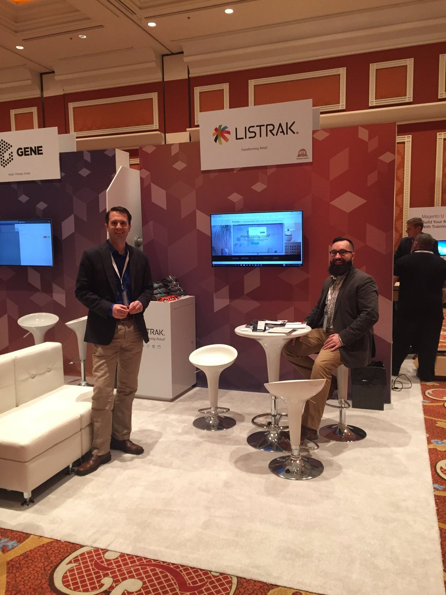 Listrak: Smiling faces waiting to greet you at @magentoimagine. Stop by booth 211. We'd love to chat with you! https://t.co/6ZBedZ7Lqm