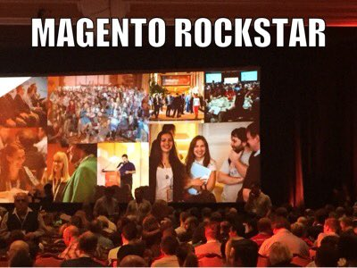 annhud: Look! It's @elena_a_leonova, our #MagentoRockstar xoxo #MagentoImagine https://t.co/76GwokPmrm
