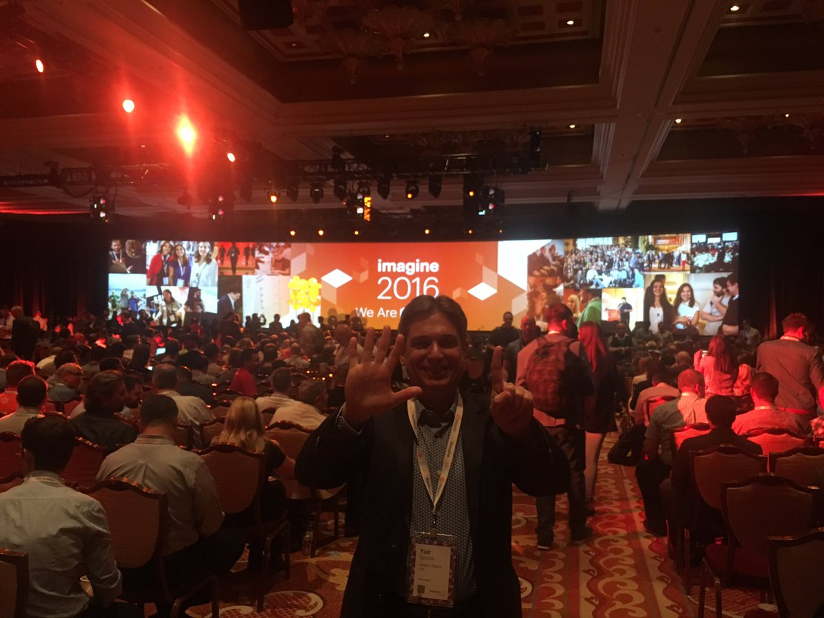 yairspitzer: BIG 6! Yes, this is @sessiondigital 6th @magentoimagine..I remember the first one in LA... Party at LAX.@royrubin05 https://t.co/nadSXlPsgR