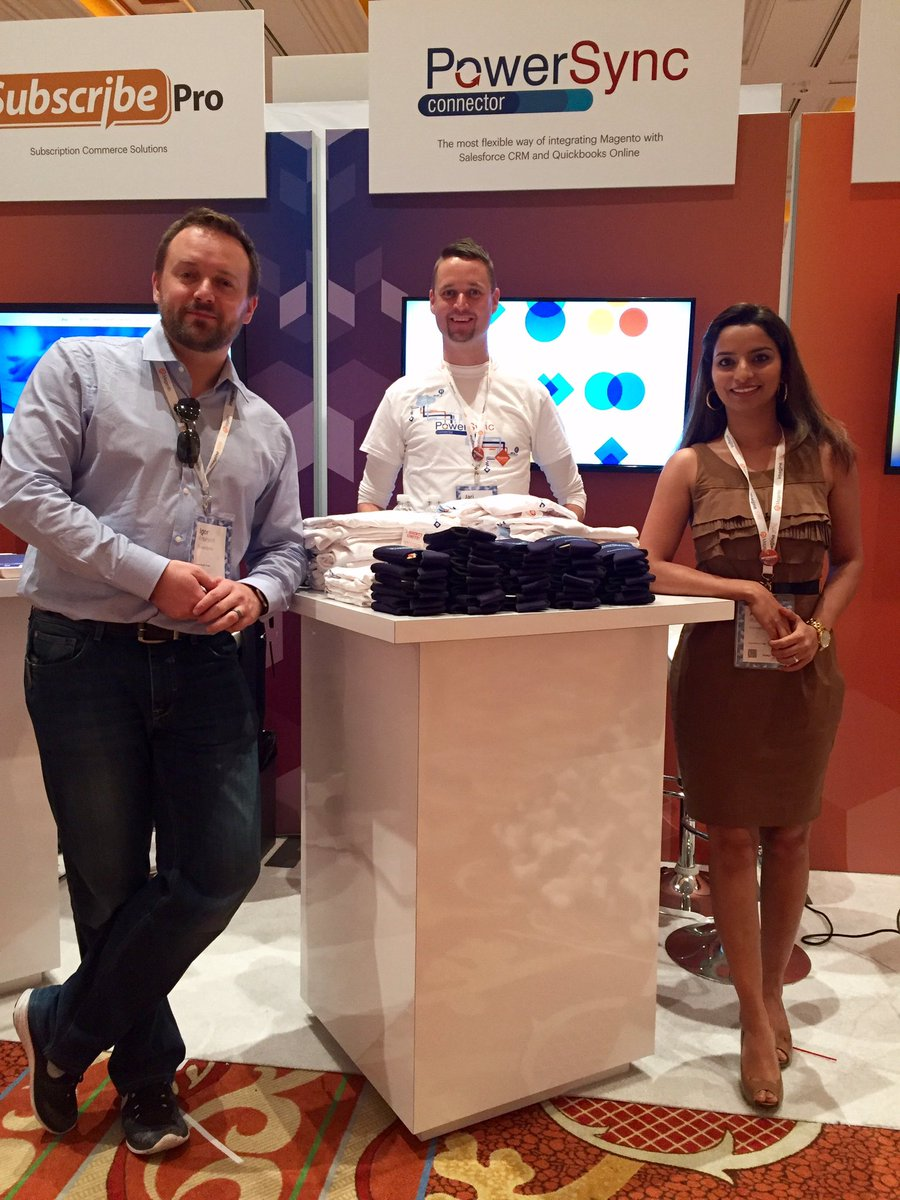 technweb: Ready for day 2! All set to welcome you all #MagentoImagine booth #56 https://t.co/POMoKtqfpa
